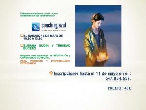 cartel meditación